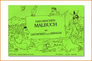 Grünfried und Liebalda - Malbuch