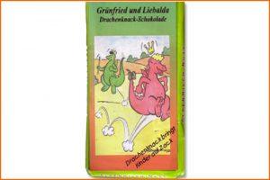 Grünfried und Liebalda - Drachenknack-Schokolade
